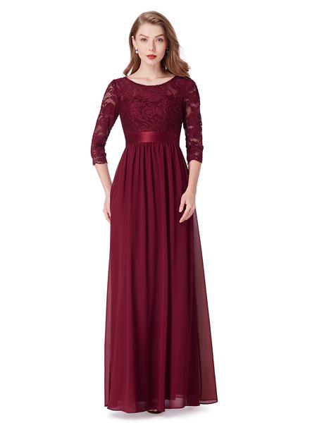 Elegant aftonklänning