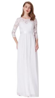 Elegant brudklänning