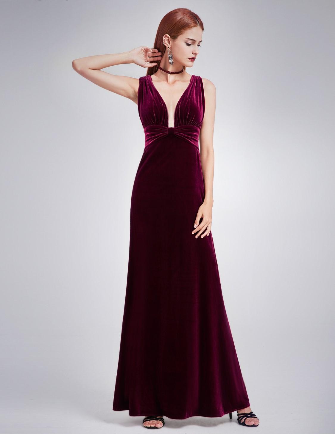 Aftonklänning i sammet - Marina´s Boutique 6afd8cb4993a6